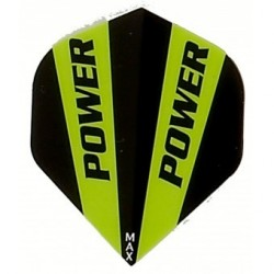 ALETTE POWER MAX HD150  NERO/BIANCO